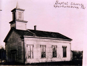 Spartansburg Baptist Church