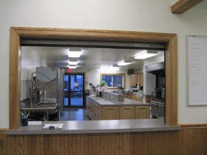 Sparta Fire Hall Kitchen